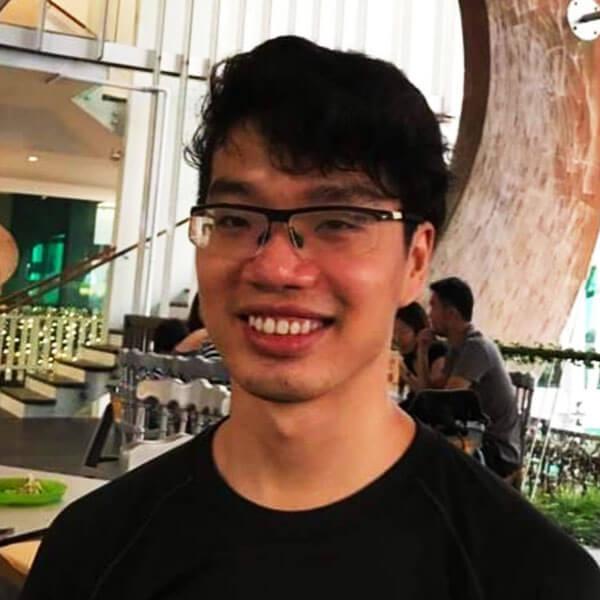 Portrait of DigiPen (Singapore) alumni Andre Pong