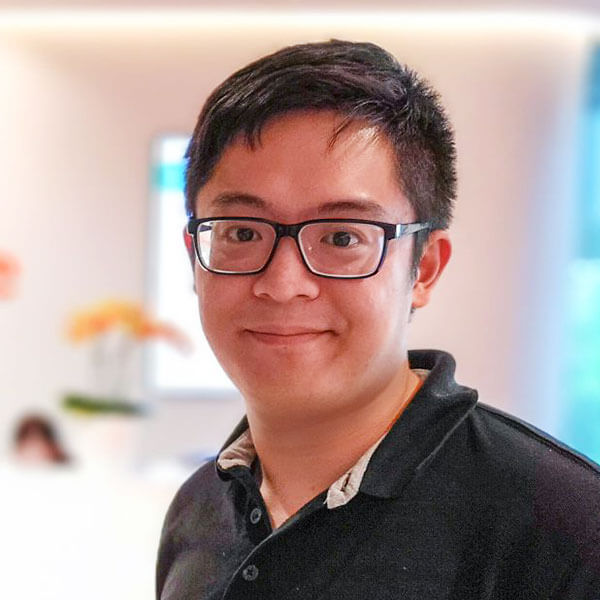 Portrait of DigiPen (Singapore) alumni Chester Liew