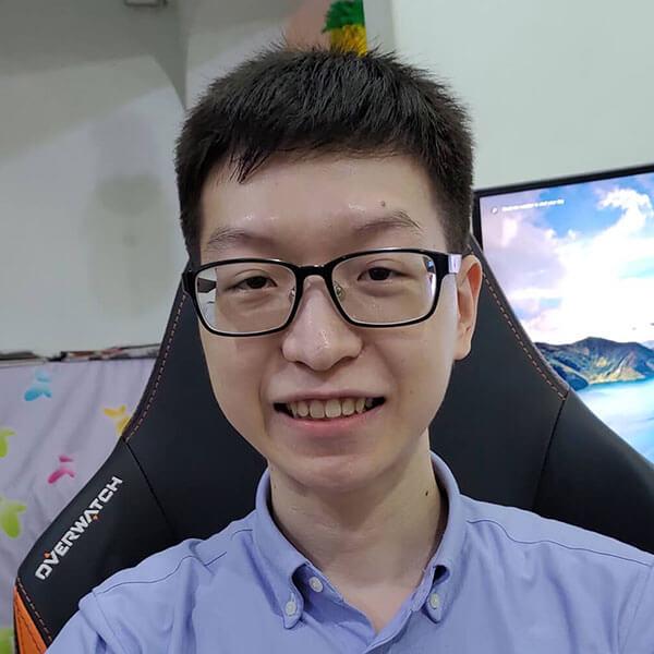 Portrait of DigiPen (Singapore) alumni Chin Wei Boon