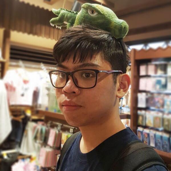 Portrait of DigiPen (Singapore) alumni Delvin Yeo