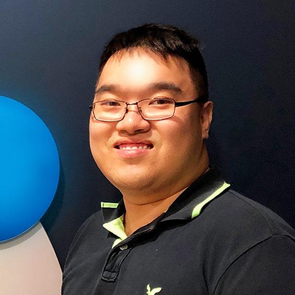 Portrait of DigiPen (Singapore) alumni Dexter Hong