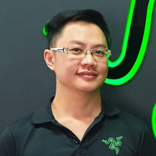 Portrait of DigiPen (Singapore) alumni Edwin Lim