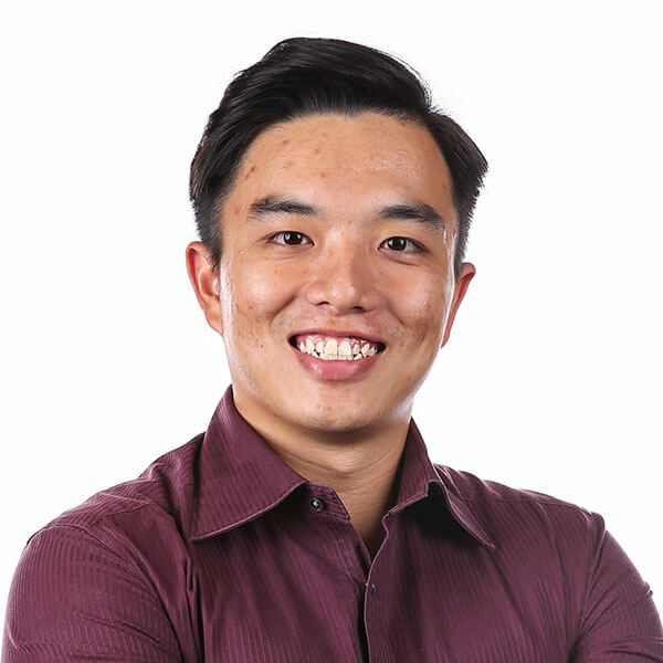 Portrait of DigiPen (Singapore) alumni Farris Chua
