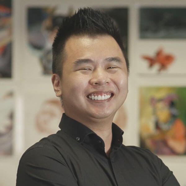 Portrait of DigiPen (Singapore) alumni Joshua Ang