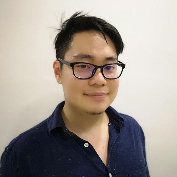 Portrait of DigiPen (Singapore) alumni Lim Zheng Yu