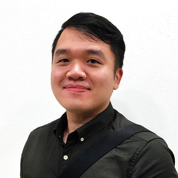 Portrait of DigiPen (Singapore) alumni Lionel Lim