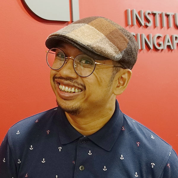 Portrait of DigiPen (Singapore) alumni Muhammad Firman Bin Osman