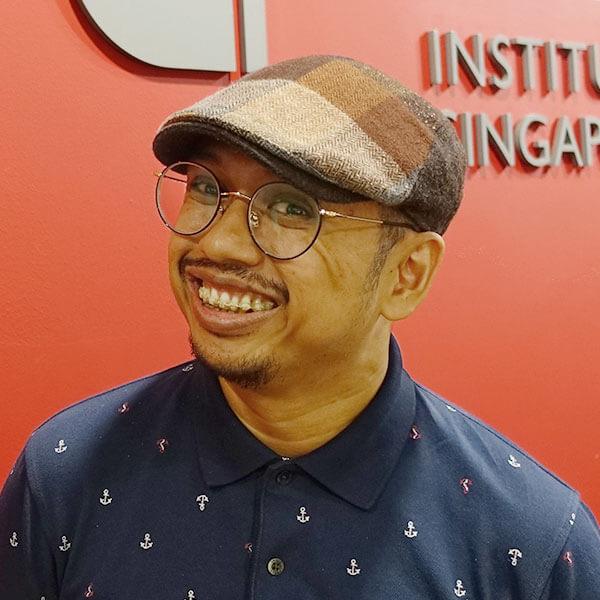 Portrait of DigiPen (Singapore) alumni Muhammad Firman Bin Osman