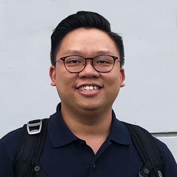 Portrait of DigiPen (Singapore) alumni Samuel Tan