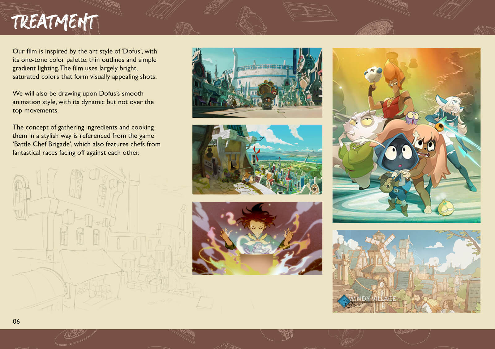 Images from the film Dofus