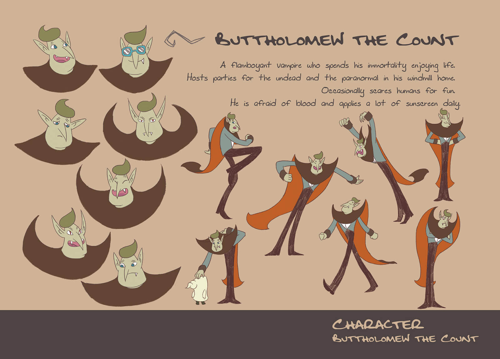 Character art for Buttholomew the Count