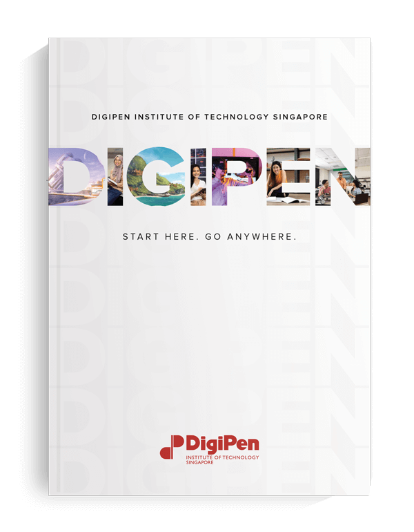An image of DigiPen's Singapore viewbook