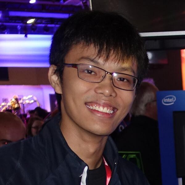 Headshot of DigiPen (Singapore) graduate Chin Yong Kian