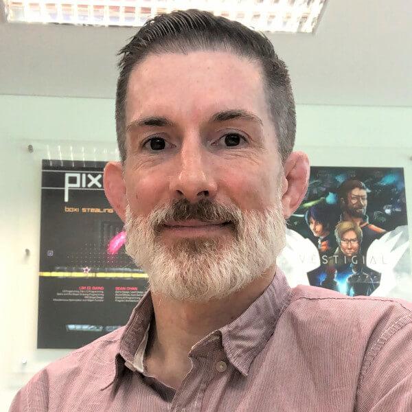 DigiPen (Singapore) senior lecturer Michael Thompson.